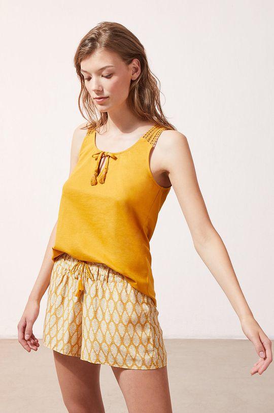 Etam - Top piżamowy Baya 100 % Bawełna