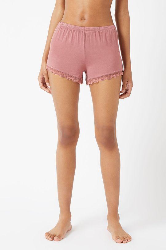 pastelowy różowy Etam - Szorty piżamowe CIDDY Damski