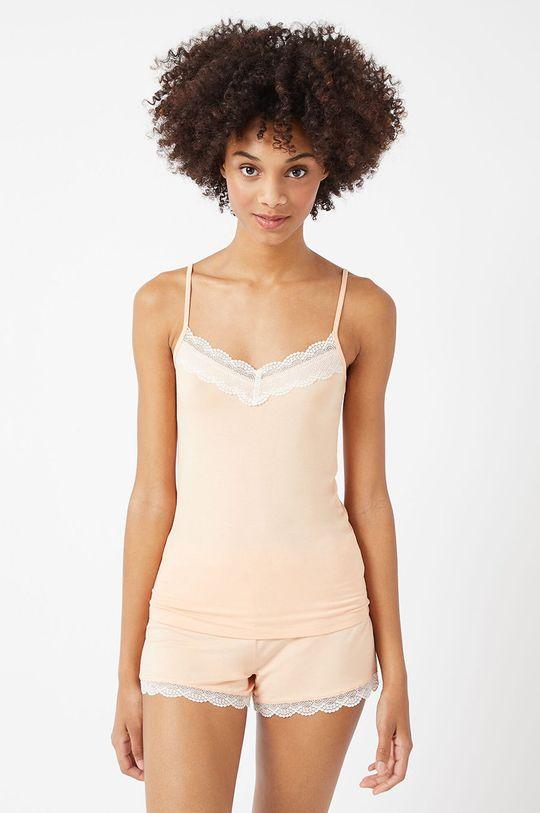 őszibarack színű Etam - Pizsama felső CIDDY Női