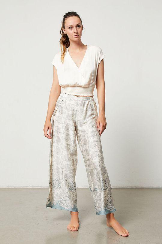 Etam - Pantaloni de pijama Iria crem