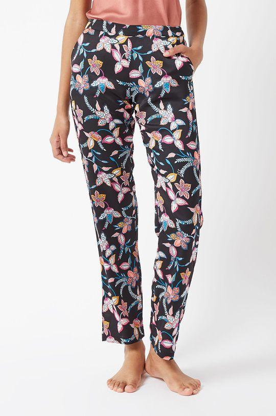 czarny Etam - Spodnie piżamowe Badia Damski