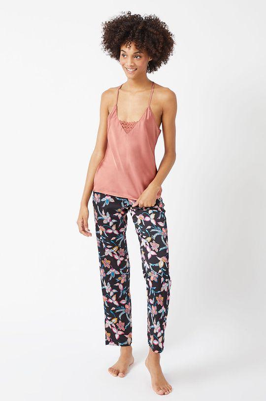 Etam - Spodnie piżamowe Badia czarny