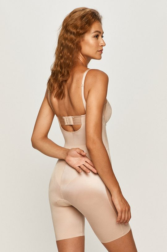 Spanx - Body modelujące Strapless Cupped Mid-Thigh cielisty
