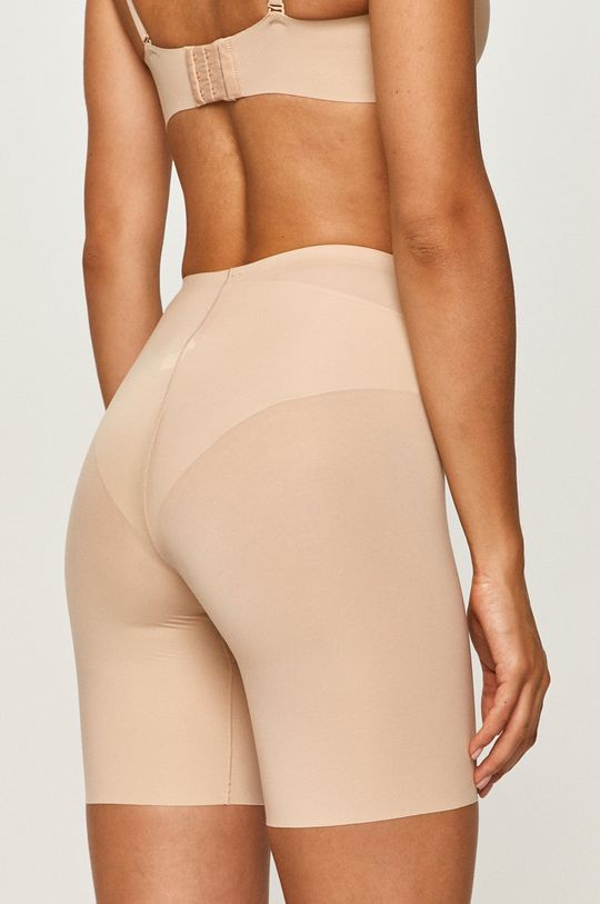 Spanx - Modelujúce šortky Thinstincts  1. látka: 57% Elastan, 43% Nylón 2. látka: 83% Elastan, 17% Nylón 3. látka: 100% Bavlna