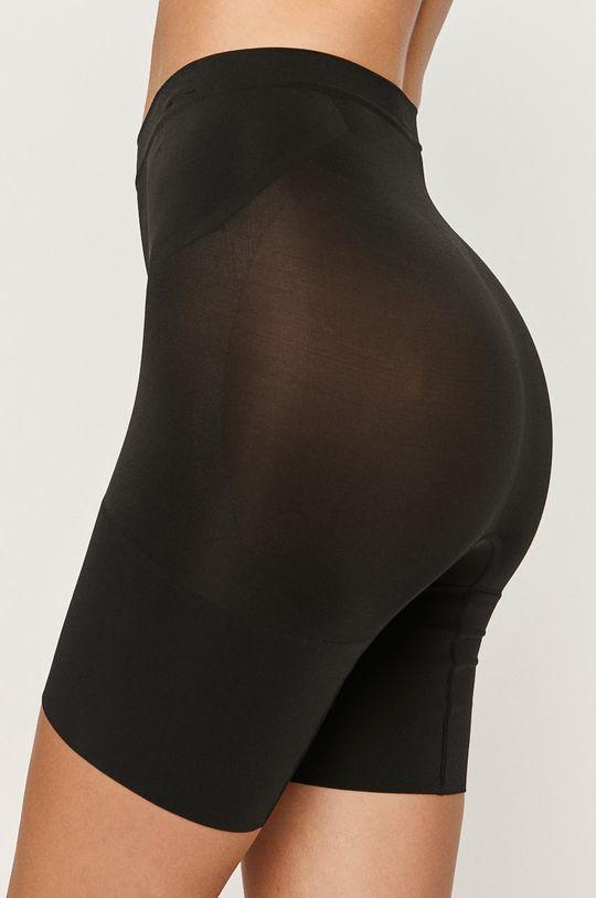 Spanx - Modelující šortky Oncore Mid-Thigh černá