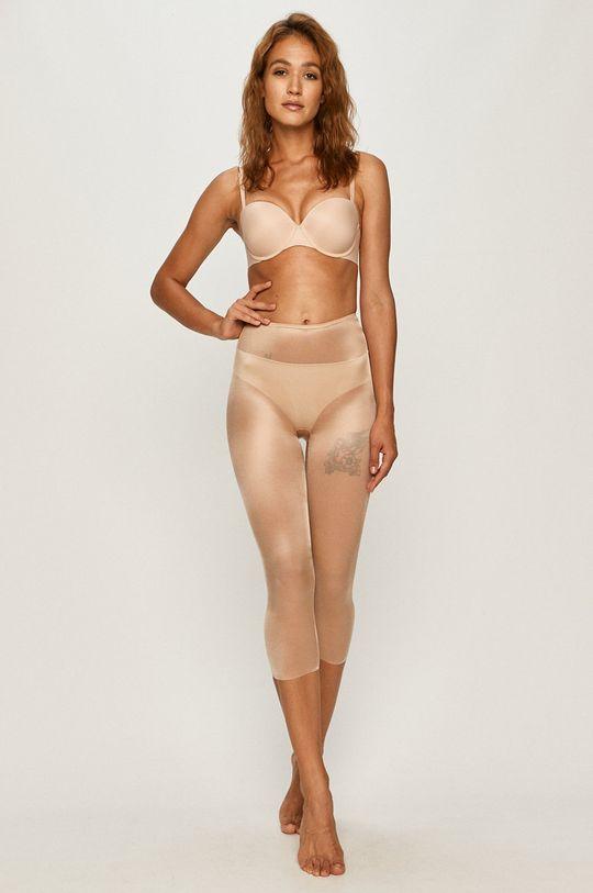 Spanx - Legginsy modelujące Skinny Britches kremowy
