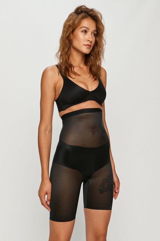Spanx - Modelující šortky Skinny Britches High-Waisted černá