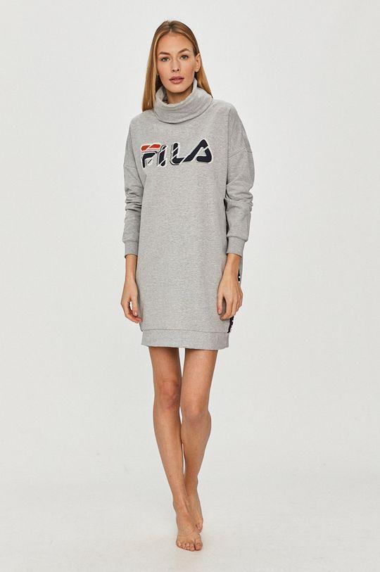Fila - Bluza piżamowa szary