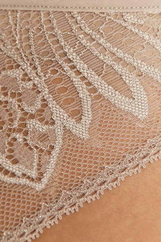 beżowy Calvin Klein Underwear - Figi