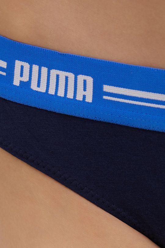Puma - Stringi (2-pack) granatowy