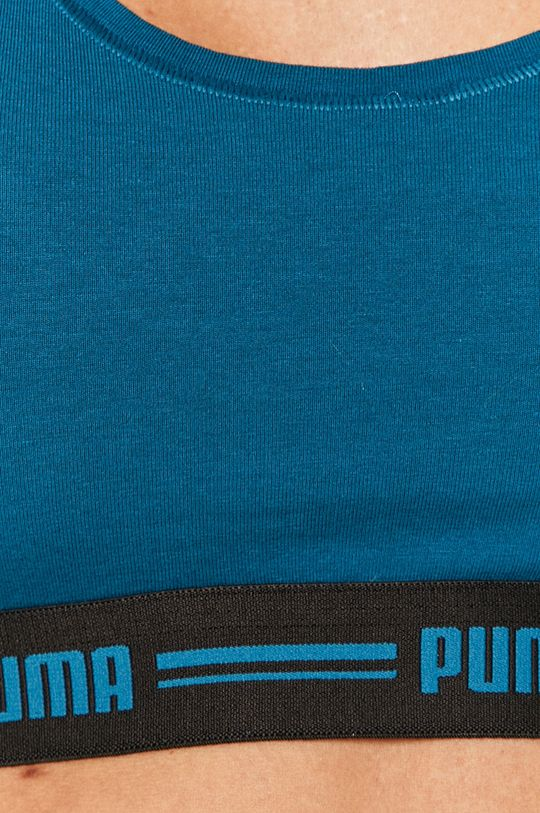 тёмно-синий Puma - Спортивный бюстгальтер