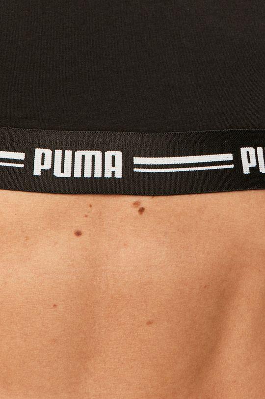 czarny Puma - Biustonosz sportowy