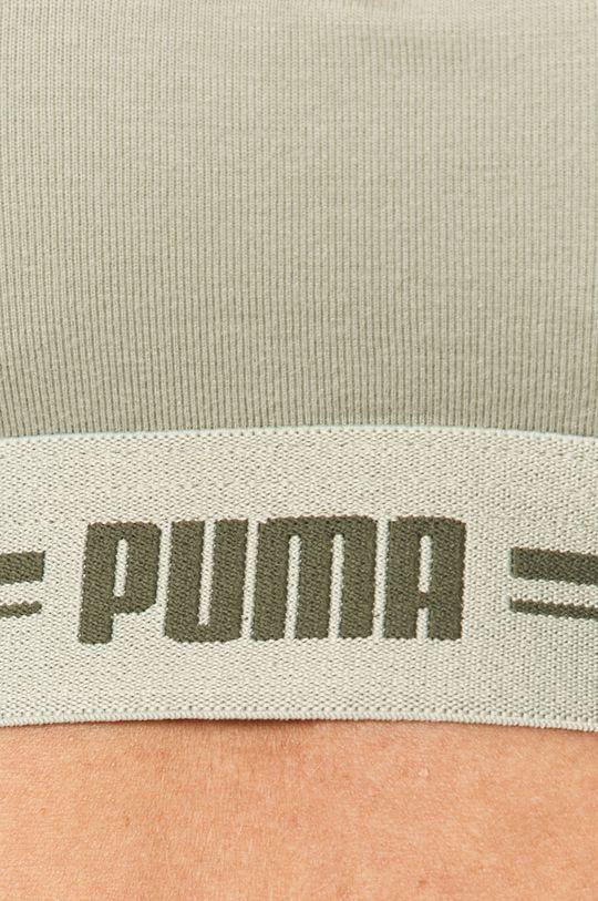 бледно-зелёный Puma - Спортивный бюстгальтер