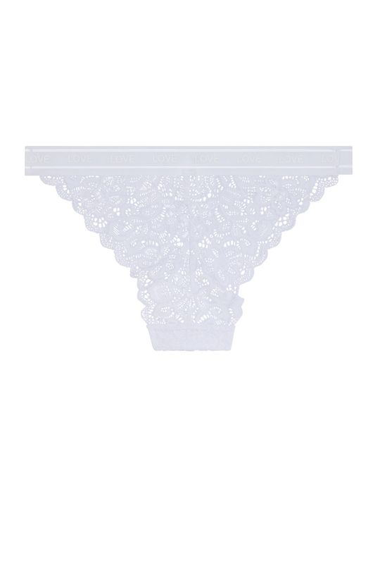 bílá Undiz - Kalhotky Anonymiz