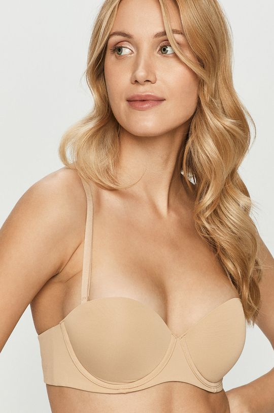 béžová Calvin Klein Underwear - Podprsenka Dámský