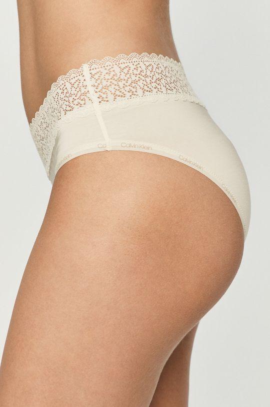 Calvin Klein Underwear - Figi kremowy