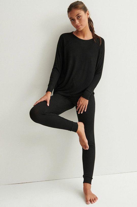 czarny Undiz - Spodnie piżamowe QUODIZ Damski