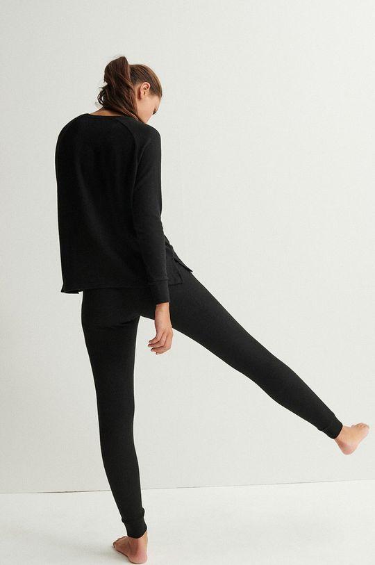 Undiz - Spodnie piżamowe QUODIZ czarny