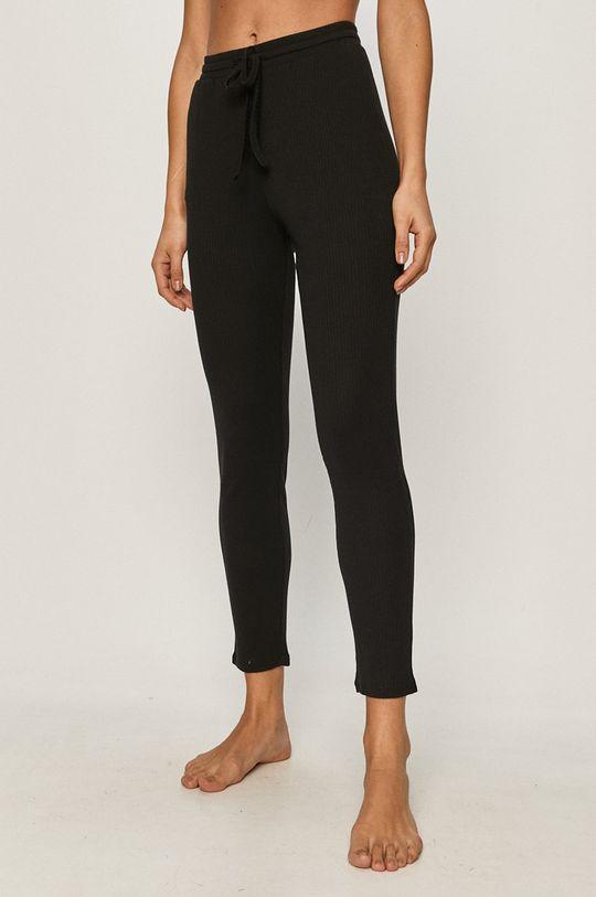czarny Undiz - Spodnie piżamowe DEBIDIZ Damski