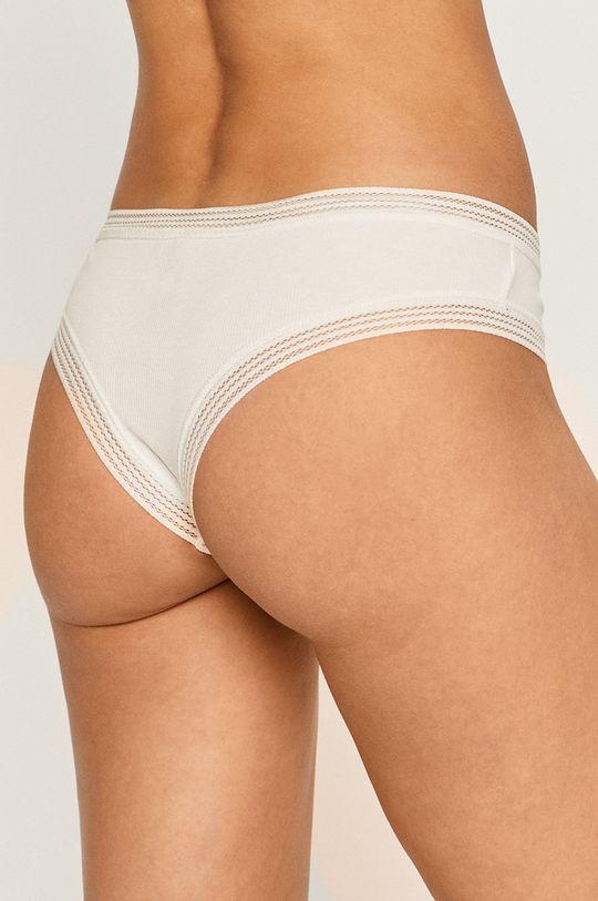 Undiz - Kalhotky brazilky WAFIRIBIZ bílá