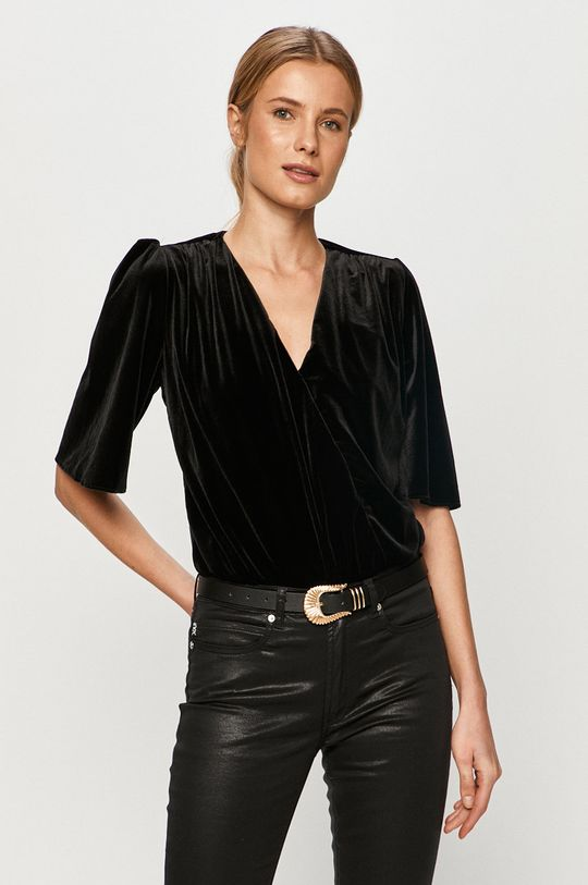 negru Undress Code - Bluza ADDICTED TO LOVE De femei