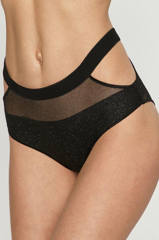 čierna Undress Code - Nohavičky SHINE BRIGHT Dámsky