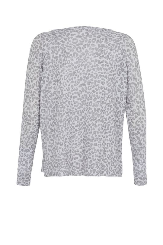 bílá Undiz - Pyžamové tričko CARRYPRINTIZ