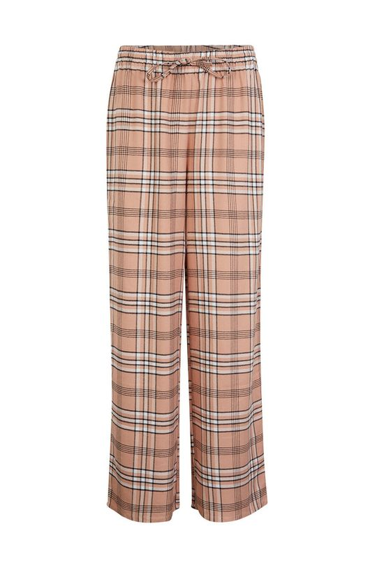 starorůžová Undiz - Pyžamové kalhoty CHECKIZ Dámský