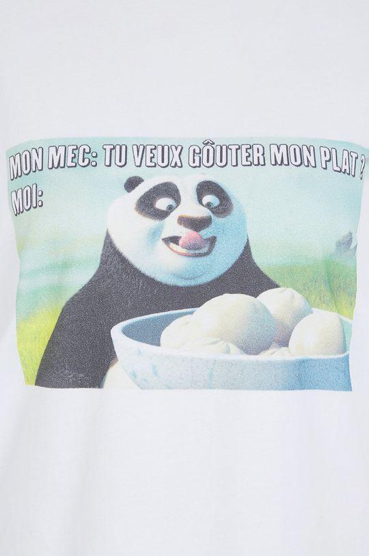 Undiz - Pyžamové tričko KUNGFUPANDIZ  100% Bavlna