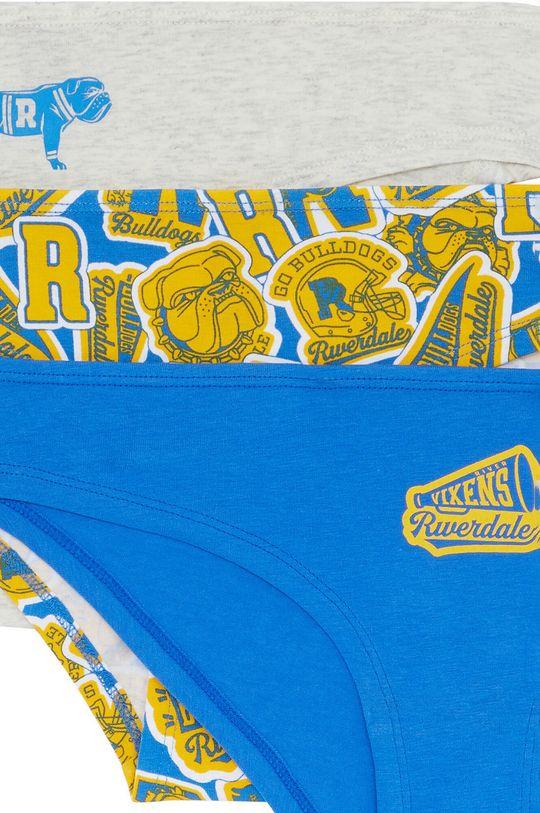 Undiz - Kalhotky RIVERDOGIZ (3-PACK) modrá