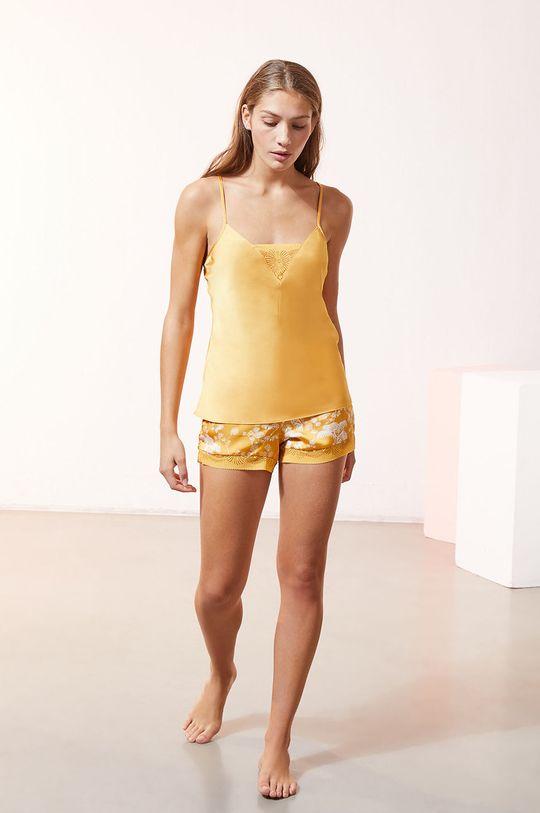 Etam - Top piżamowy EVENTAIL 100 % Poliester