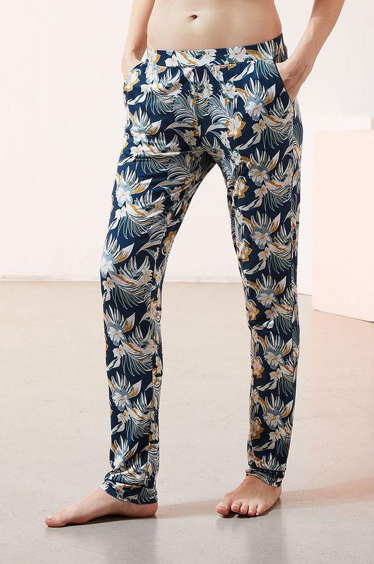 granatowy Etam - Spodnie piżamowe JOLEEN Damski