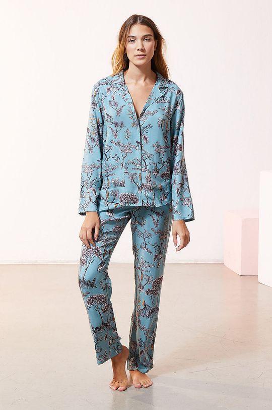 Etam - Koszula piżamowa JORJA jasny niebieski