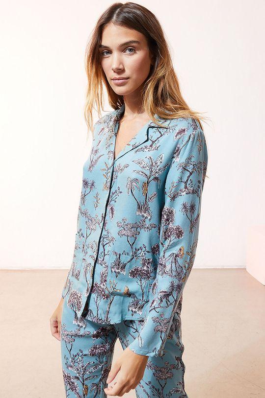 jasny niebieski Etam - Koszula piżamowa JORJA