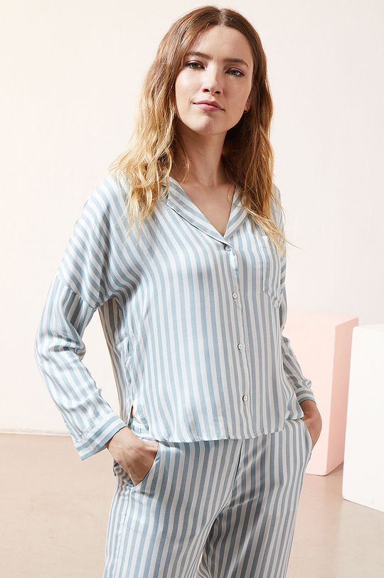biały Etam - Koszula piżamowa JUDY Damski