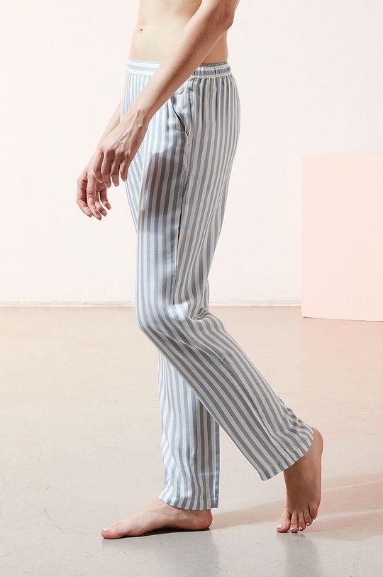 biały Etam - Spodnie piżamowe JUDY