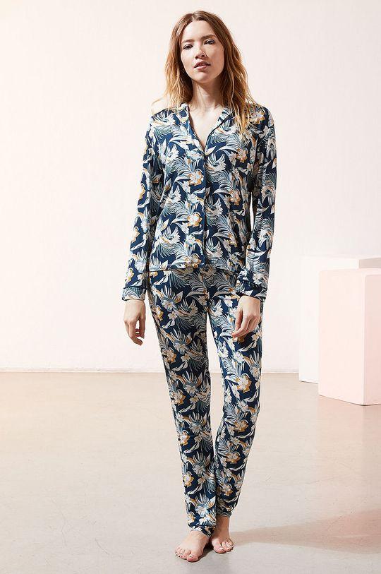 Etam - Koszula piżamowa JOLEEN granatowy