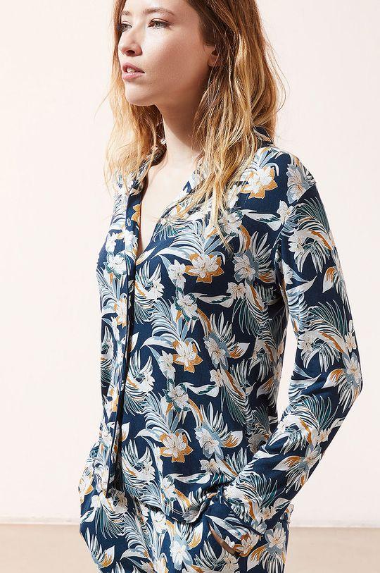 granatowy Etam - Koszula piżamowa JOLEEN