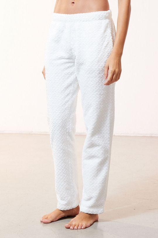 biały Etam - Spodnie piżamowe OOJAM Damski