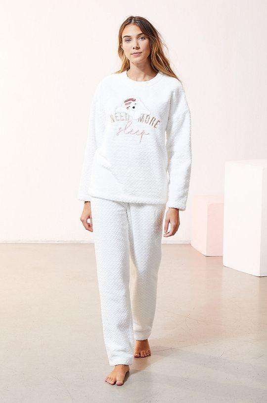 Etam - Spodnie piżamowe OOJAM biały