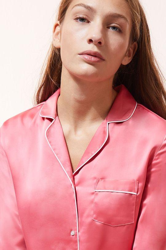 czerwony róż Etam - Koszula piżamowa CATWALK