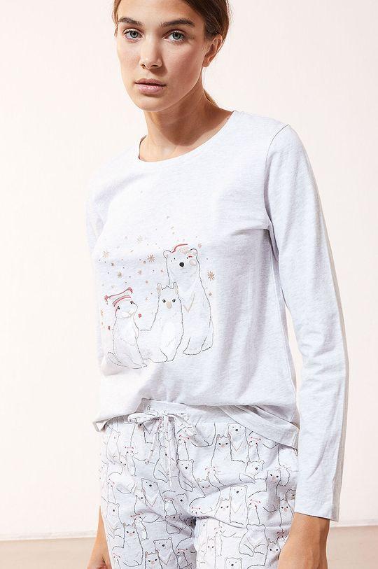 Etam - Komplet piżamowy 3-częściowy OANA biały