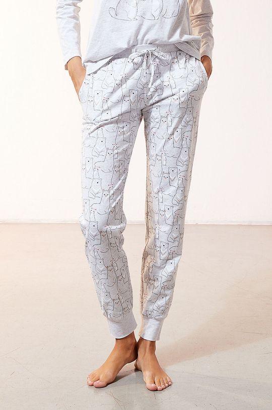 Etam - Komplet piżamowy 3-częściowy OANA Materiał 1: 100 % Poliester, Materiał 2: 100 % Bawełna