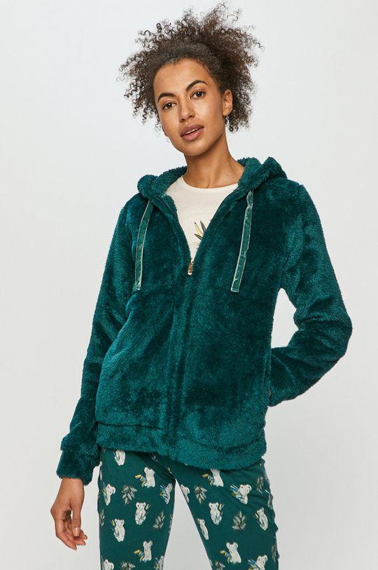Etam - Komplet piżamowy 3-częściowy RAFAEL ciemny turkusowy