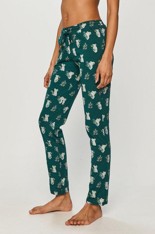 ciemny turkusowy Etam - Komplet piżamowy 3-częściowy RAFAEL