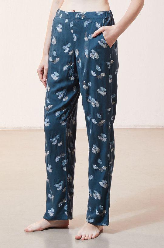 ciemny turkusowy Etam - Spodnie piżamowe JUNE Damski