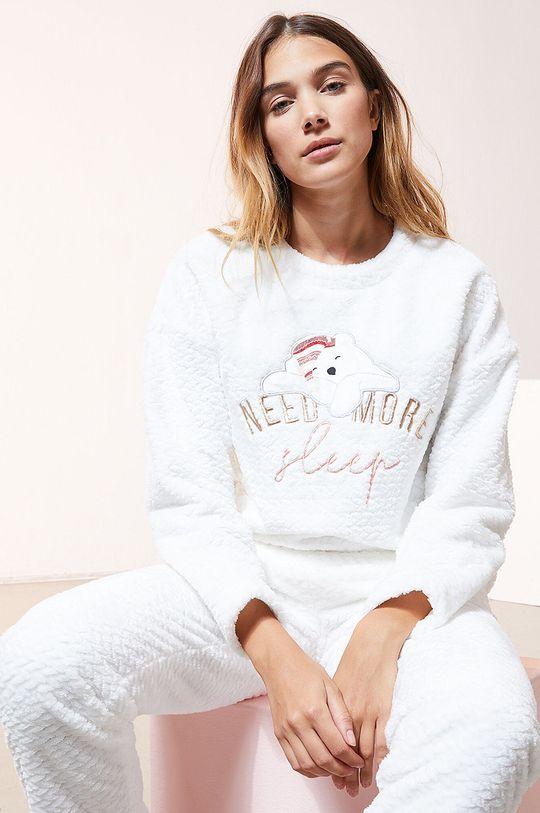 biały Etam - Bluza piżamowa OOJAM Damski