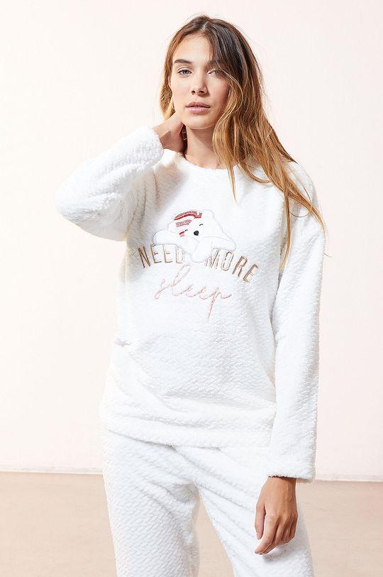 biały Etam - Bluza piżamowa OOJAM