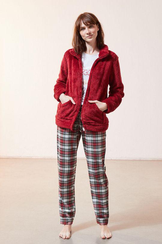 czerwony Etam - Komplet piżamowy 3-częściowy OLYMPE