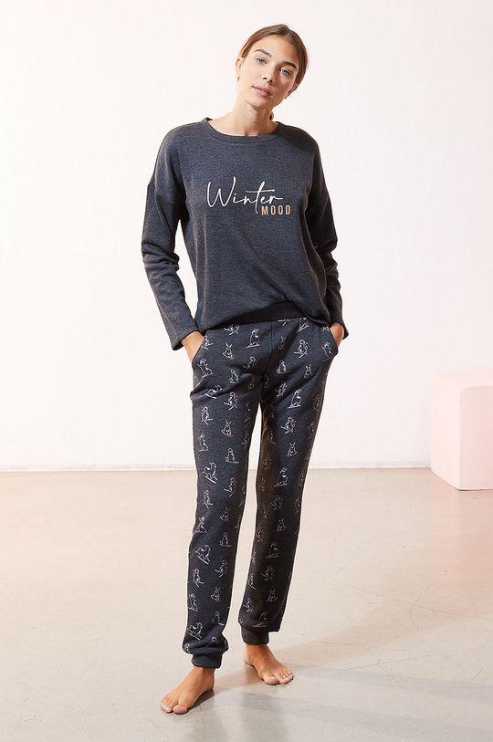 Etam - Longsleeve piżamowy OVIDE szary